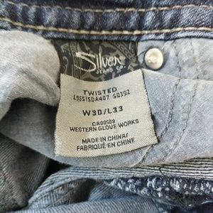 Silver Jeans Pants - Silver Jeans twisted jeans